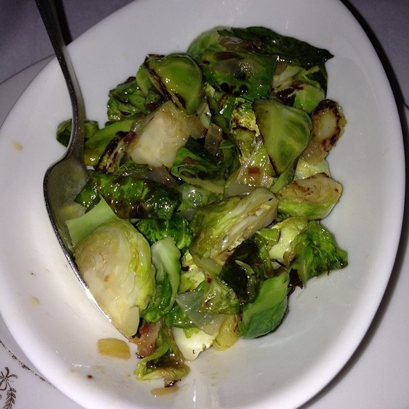 Roasted brussels sprouts - Delmonico's, New York, NY