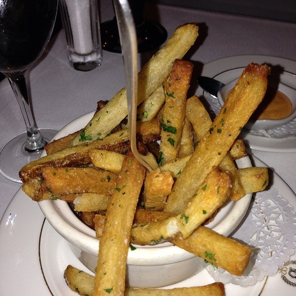 French Fries - Delmonico's, New York, NY
