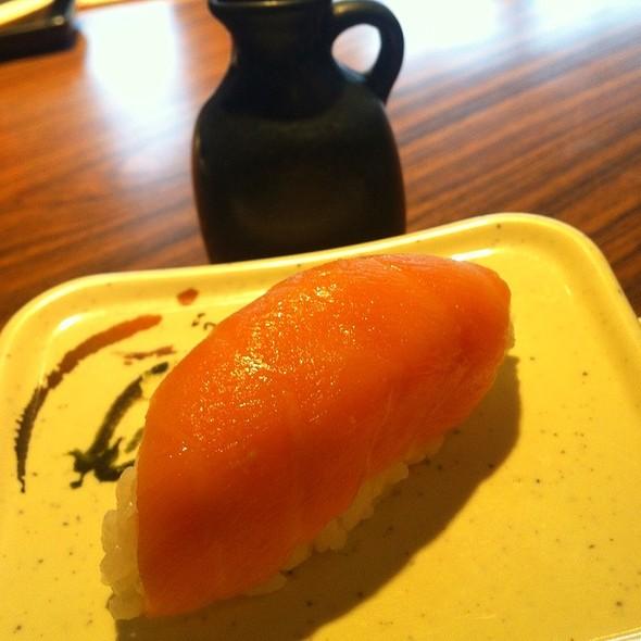 Salmon (Sake) Nigiri Sushi