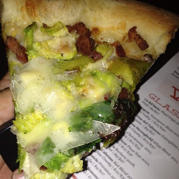 Brussel Sprout Pizza @ Federal Pizza