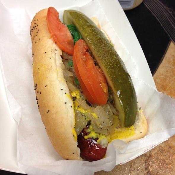 Chicago-Style Hot Dog @ Hot Doug's Inc