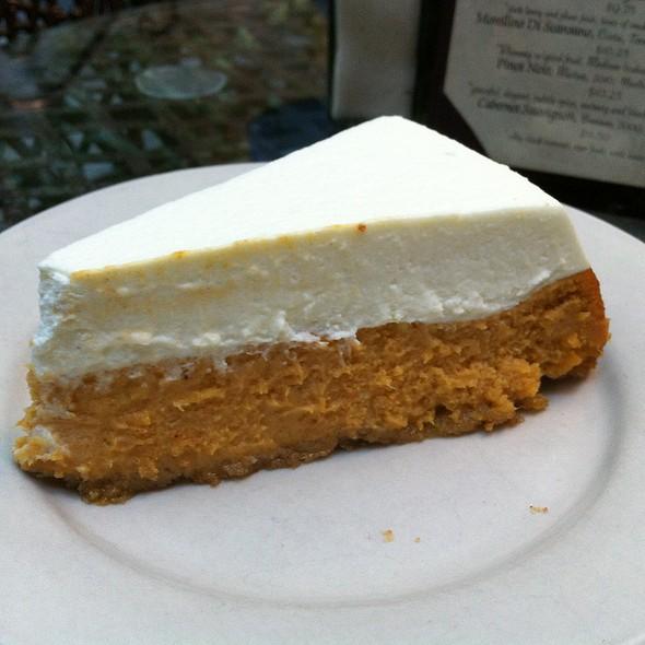 Pumpkin Cognac Cheesecake