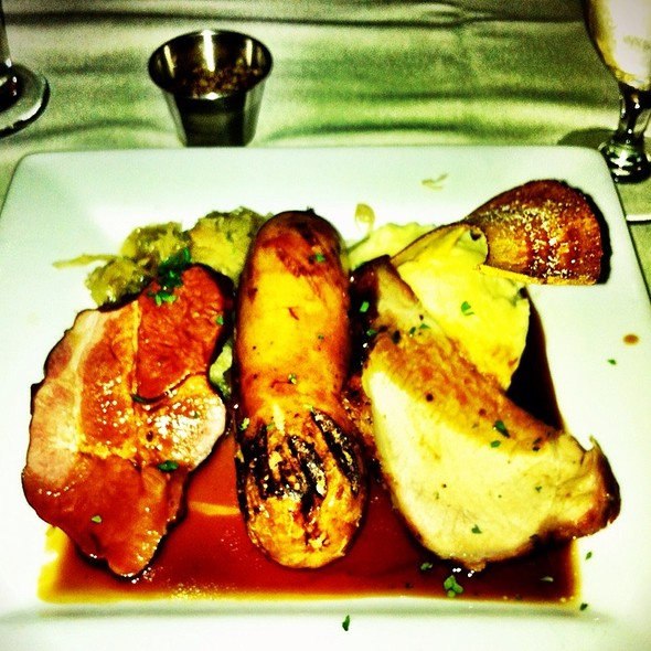 Pork Platter - The Mill on the River, South Windsor, CT