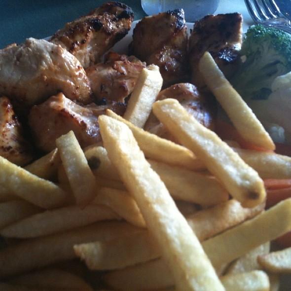 Shish Tawook Lunch Special - Shishka Lebanese Grill, Pompano Beach, FL
