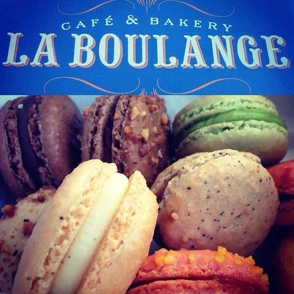 Macarons @ La Boulange de California