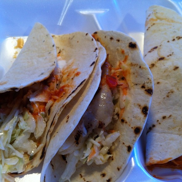 Fish Taco @ Tackle Box