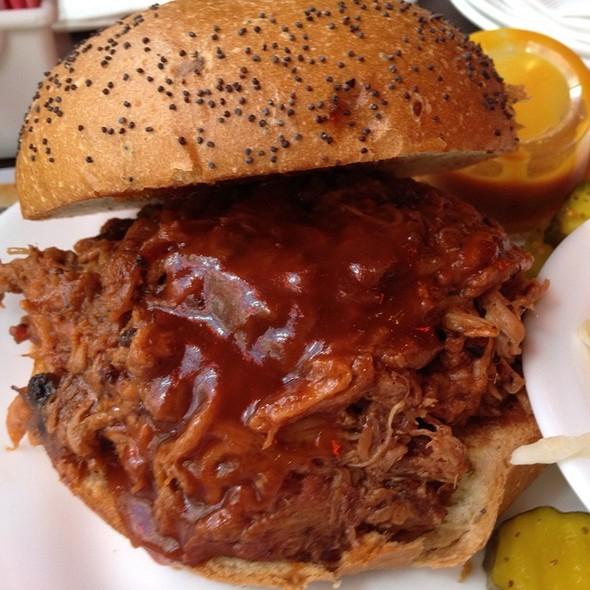 Carolina Pulled Pork Sandwich at Dallas BBQ