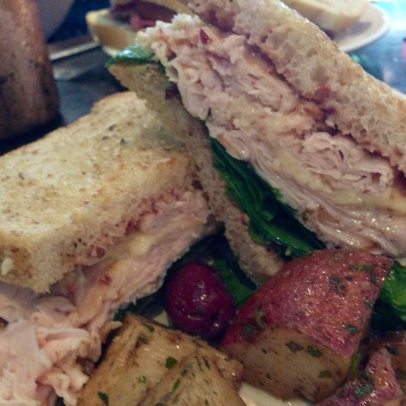 Griddled Turkey Sandwich With Cranberry Horsey Mustard - Pane Rustica, Tampa, FL