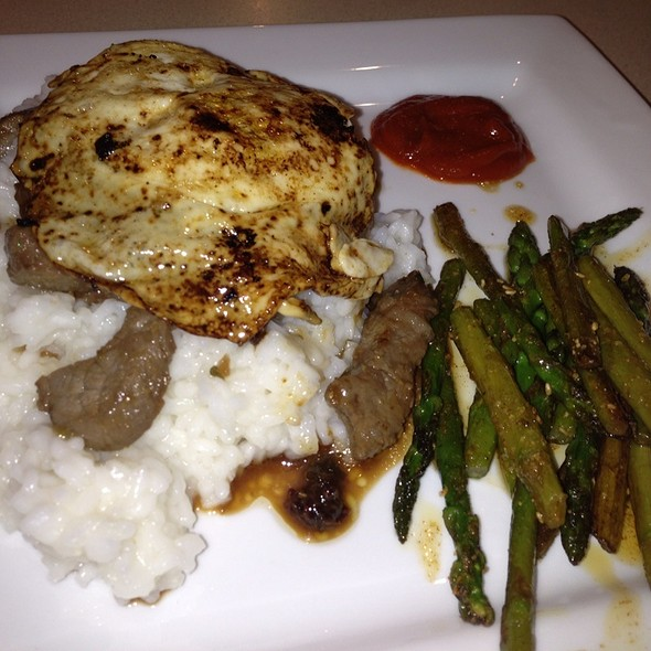 Korean Steak And Asparagus Rice Bowl With Fried Egg @ BecStu's Creations