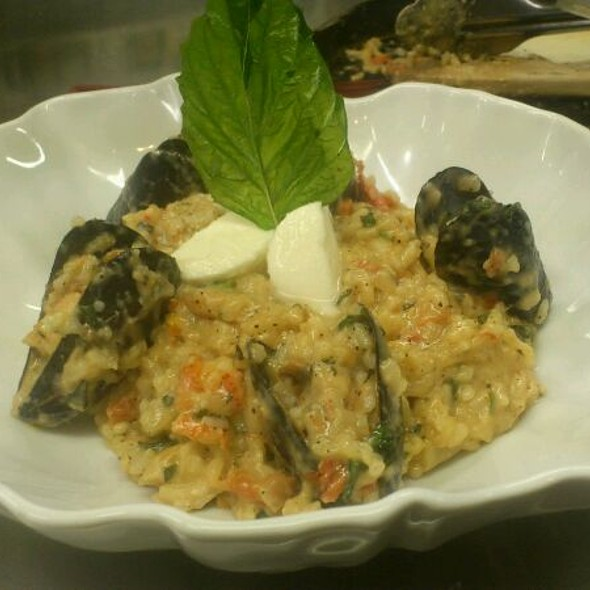 Seafood Risotto - Sole Restaurant, Waterloo, ON