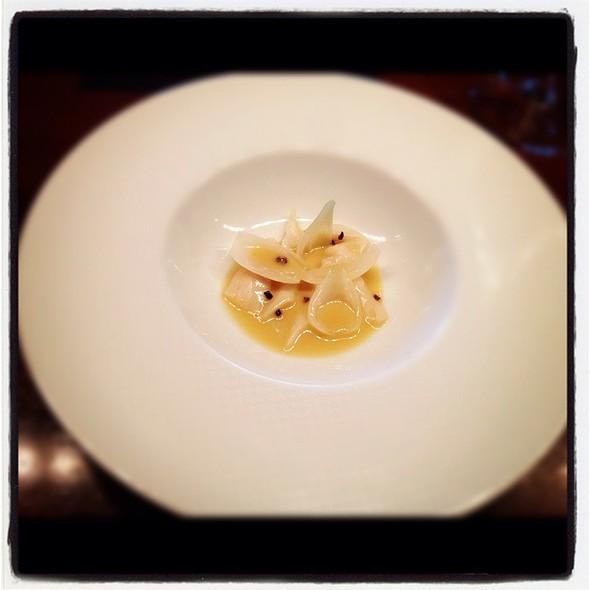 Palm Heart Salad, Razor Clams And Manzanilla Butter @ La Scala @ Sukhothai Hotel