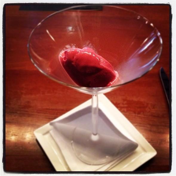 Raspberry Sorbet @ La Scala @ Sukhothai Hotel
