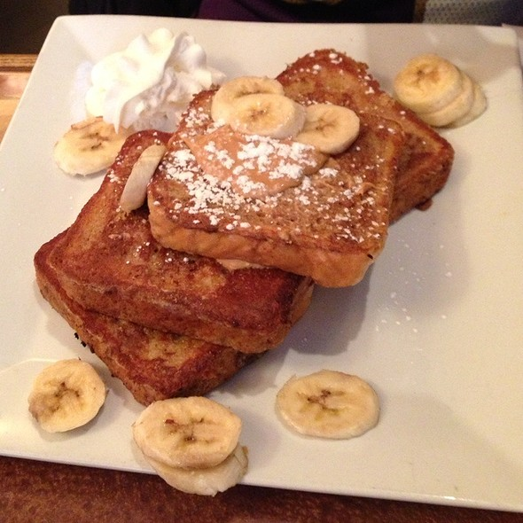 Peanut Butter French Toast @ saute