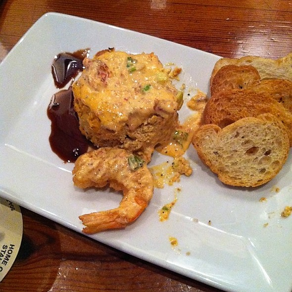 Seafood Cheesecake @ Crescent City Brewhouse