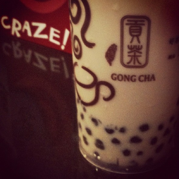 Milk Tea with Pearls @ Gong Cha