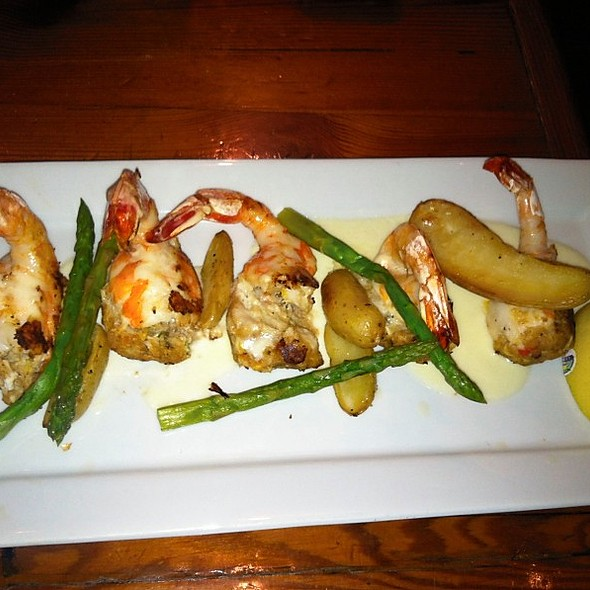 Crab Stuffed Shrimp @ Crescent City Brewhouse