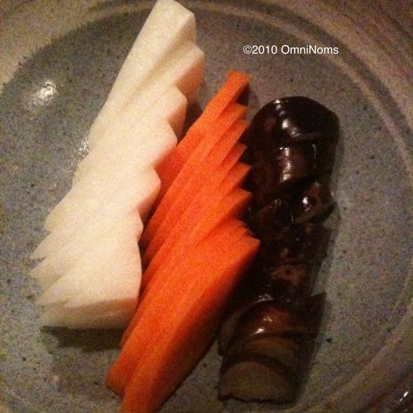 Nukazuke @ Shoya Japanese Restaurant