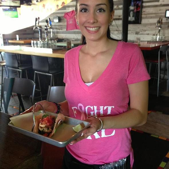 Pink Tacos @ Red Pepper Taqueria