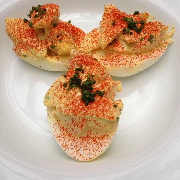 Crab Deviled Eggs @ Route 6