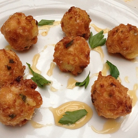 Corn And Jalapeno Fritters @ Route 6
