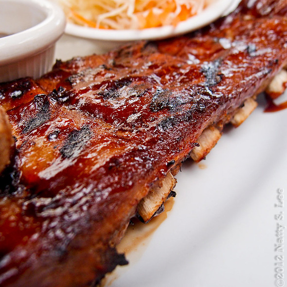 Baby Back Ribs @ Black Angus Steakhouse