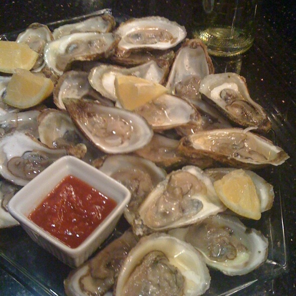 Malpeque Oysters @ My Place