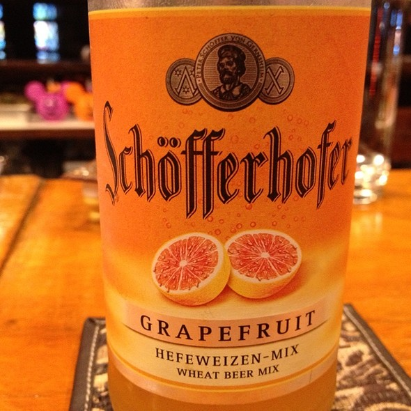 Schöfferhofer Grapefruit @ 太陽酒場 3sun