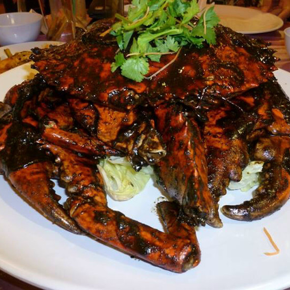Black Pepper Crab @ House of Seafood