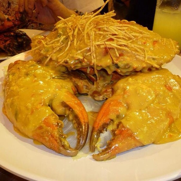 Salted Egg Crab @ House of Seafood