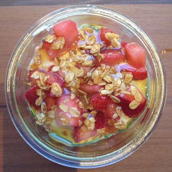 Seasonal Fruit + Granola @ Chobani SoHo