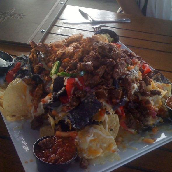 Nachos Grande @ Half Shell Seafood & Gaming