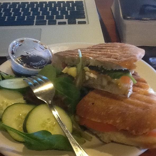 Beacon & Cheese Panini @ Cafe Ipe