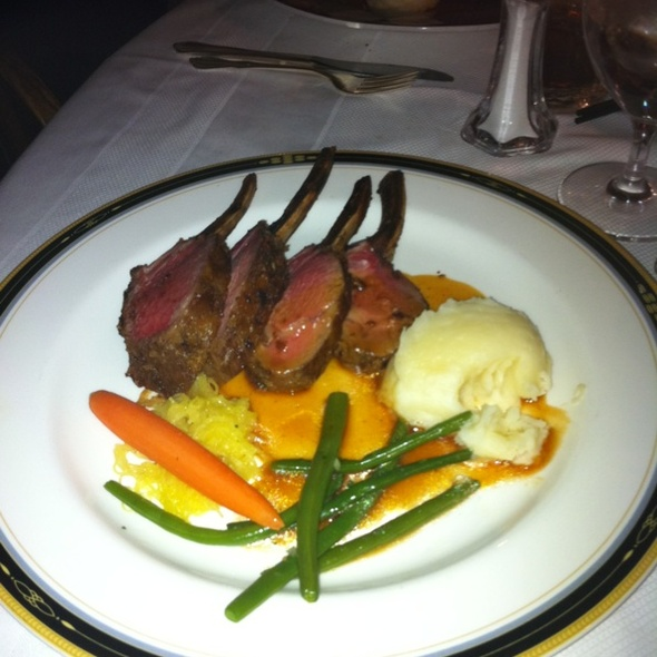 Rack of Lamb - Left Bank Restaurant, Vail, CO