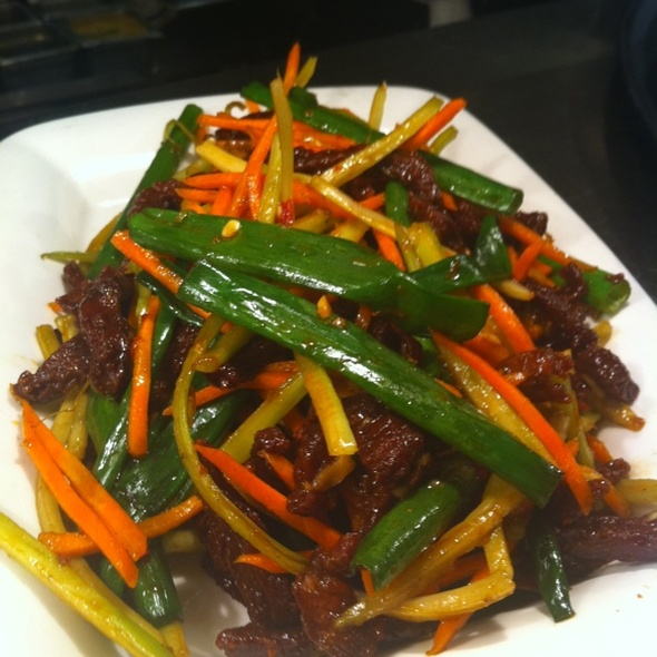 Beef A La Sichuan @ P F Chang's China Bistro