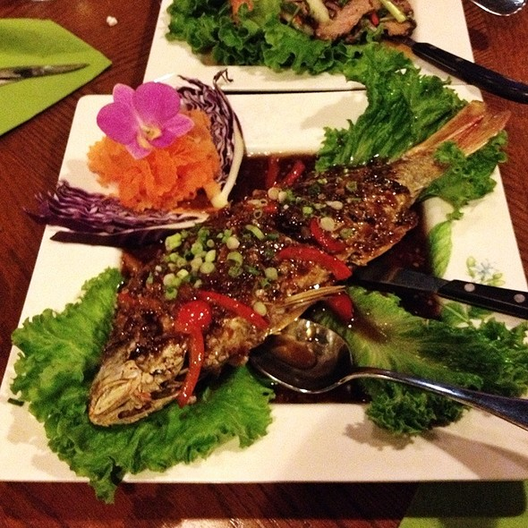 Whole Fried Snapper @ Naradeva Thai Restaurant