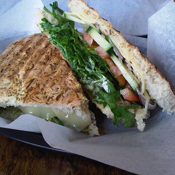 Vegetarian Panini @ Another Cafe