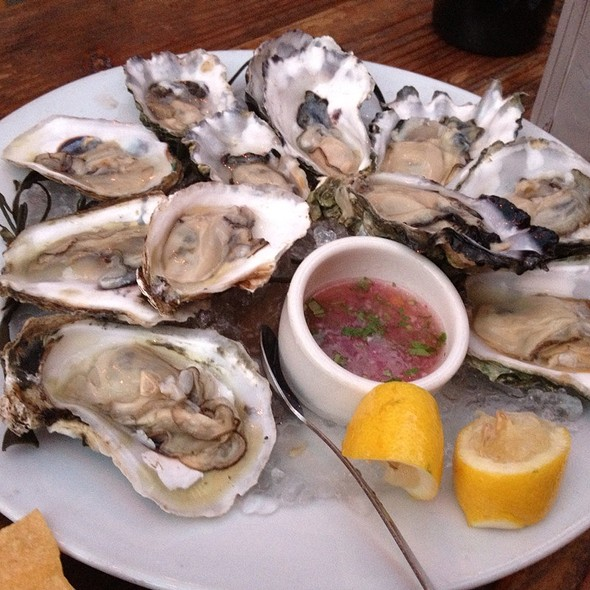 Oysters @ Foreign Cinema