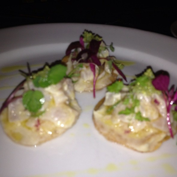 Sea Bass Ceviche @ Foreign Cinema