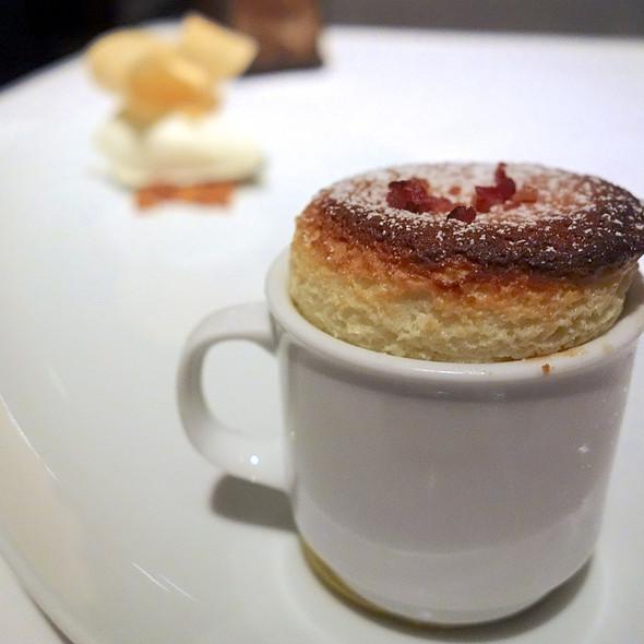 Warm Edam Cheese Souffle @ La Folie