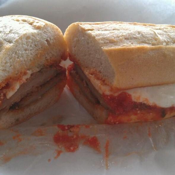 Veal Parm Sandwich @ Mozzarella Fella