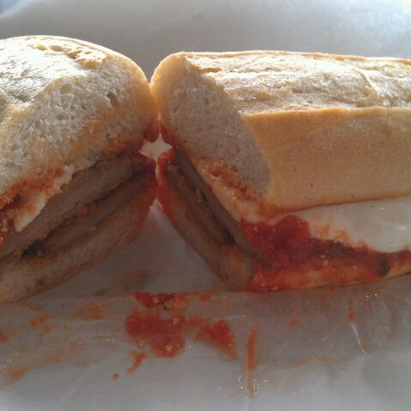 Veal Parm Sandwich @ Mozzarella Fella