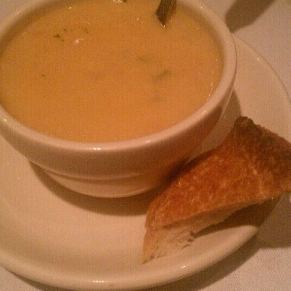 Seafood Bisque - The Majestic Restaurant, Kansas City, MO
