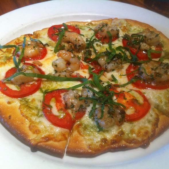Grilled Shrimp Margherita Pizza - Jasper's - Austin, Austin, TX