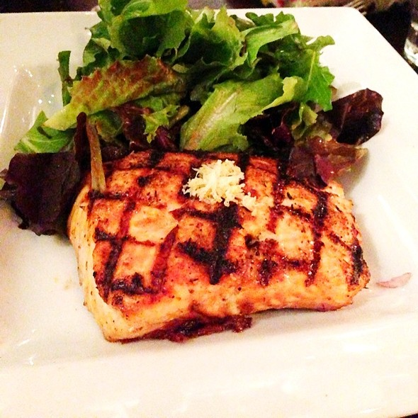 Grilled Salmon @ Upper West Restaurant