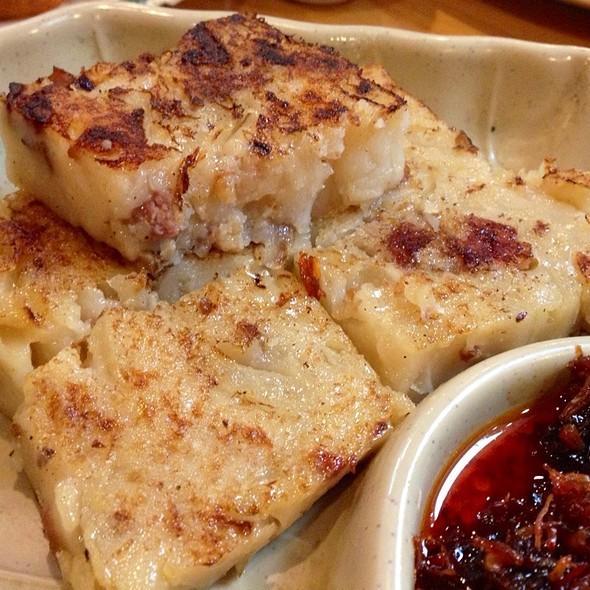 Law Bok Gow [Turnip Cake] @ Koi Palace Restaurant