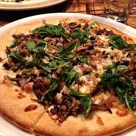 Wild Mushroom Pizza - The Tree Room @ Sundance, Sundance, UT