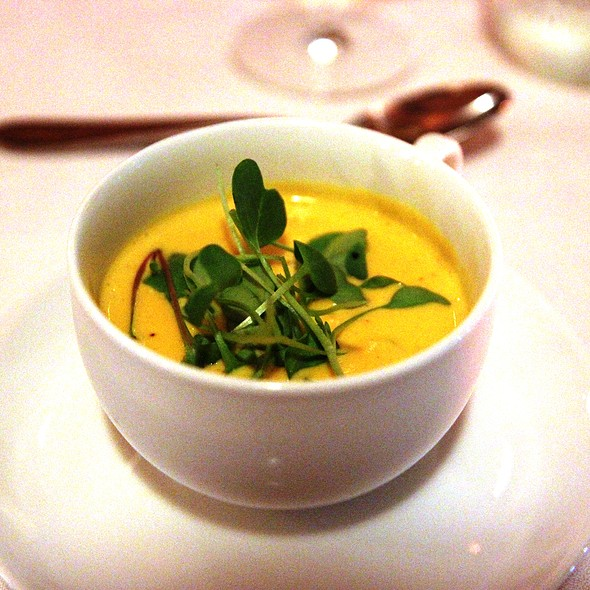 Butternut Squash Soup - Brookville Restaurant, Charlottesville, VA