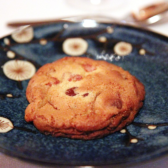 Classic Cookie with Chocolate and Bacon - Brookville Restaurant, Charlottesville, VA
