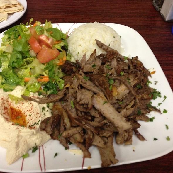 Shawarma Plate with Lamb @ Sultans Kebab