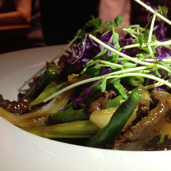 Marinated Grain-Fed Beef Rump Slices, Betal Leaf In Butter Soy @ Xage Vietnamese